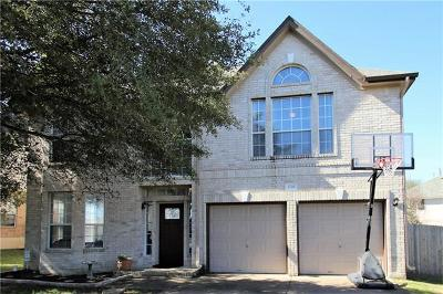 Round Rock Single Family Home For Sale: 1718 Fort Grant Dr