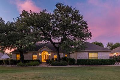 Round Rock Single Family Home For Sale: 3010 Indigo Trl