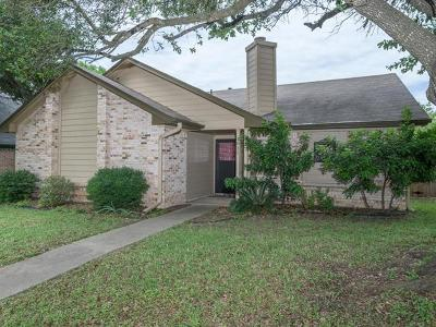 Round Rock Single Family Home For Sale: 1811 Greenlawn Blvd