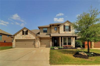 Liberty Hill Single Family Home Active Contingent: 208 Norcia Loop