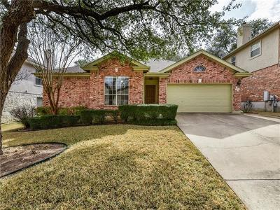 Round Rock Single Family Home For Sale: 2223 Shark Loop