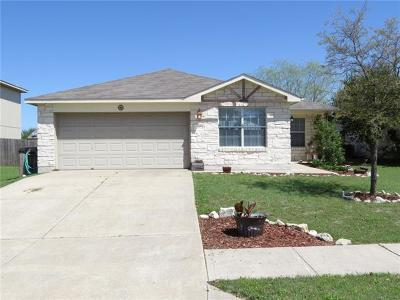 Hutto Single Family Home For Sale: 302 Wegstrom St