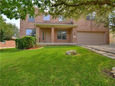 Leander Single Family Home For Sale: 1104 Applerock
