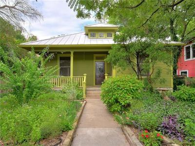 Austin Single Family Home For Sale: 1708 Nickerson St