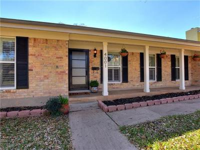 Single Family Home For Sale: 4001 Greystone Dr