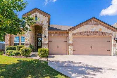 Leander Single Family Home For Sale: 2037 Tribal Way
