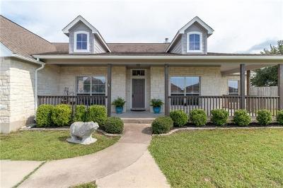 Hutto Single Family Home For Sale: 112 Blanco Dr