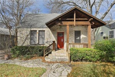 Single Family Home For Sale: 4108 Burnet Rd