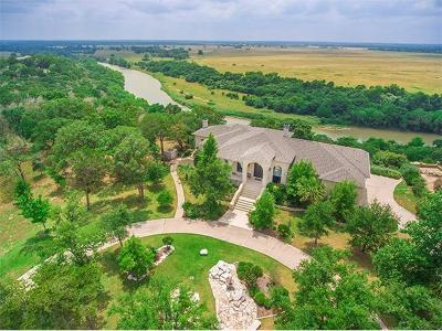 Bastrop Single Family Home For Sale: 166 Riverwalk Ln