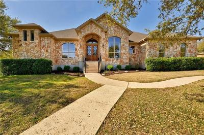 Dripping Springs Single Family Home For Sale: 1007 N Canyonwood Dr