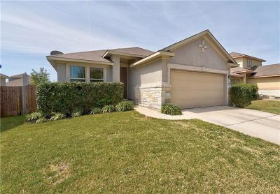 Pflugerville Single Family Home For Sale: 18804 Mangan Way