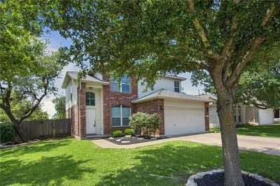 Round Rock Single Family Home For Sale: 3618 Spring Canyon Trl