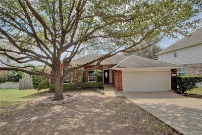 Round Rock Single Family Home For Sale: 3625 Hawk Ridge St