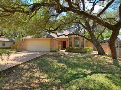 Austin Single Family Home Pending - Taking Backups: 13212 Villa Park Dr