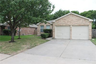 Pflugerville Single Family Home For Sale: 902 Antique Heritage Dr