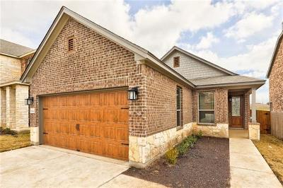 Pflugerville Single Family Home For Sale: 17101 Spanish Star Dr