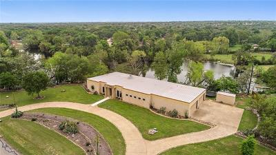 Round Rock Single Family Home For Sale: 3411 Sam Bass Rd
