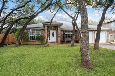 Cedar Park Single Family Home Pending - Taking Backups: 1210 Deer Grove Dr