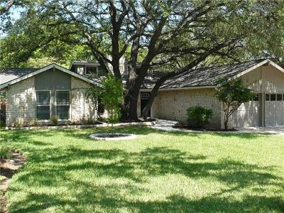 Travis County, Williamson County Single Family Home Pending - Taking Backups: 11517 Antigua Dr