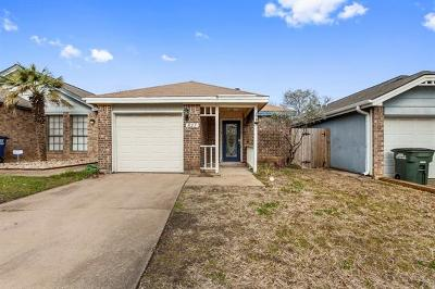 Leander Single Family Home Pending - Taking Backups: 827 Topaz Ln