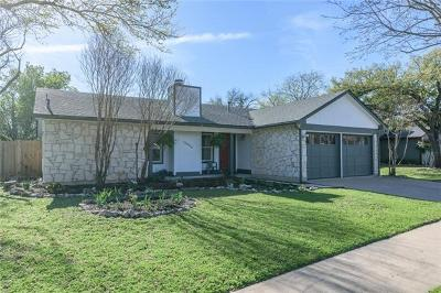 Austin Single Family Home For Sale: 12900 Water Mill Cv