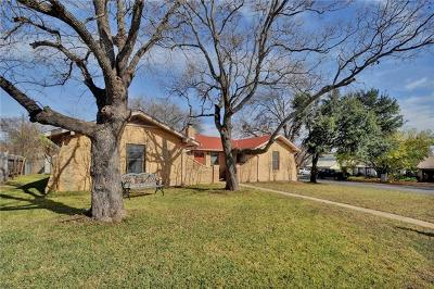 Round Rock Single Family Home For Sale: 808 Cambridge Dr