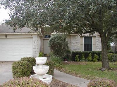 Leander Single Family Home Pending - Taking Backups: 1002 North Creek Blvd
