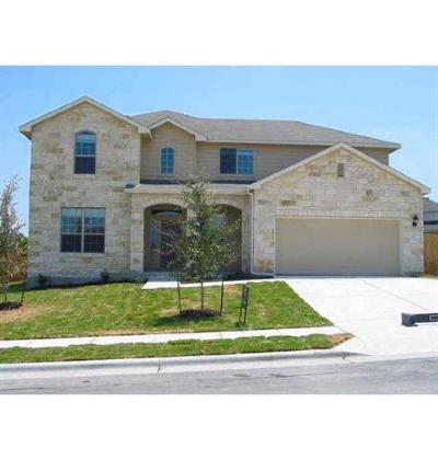 Round Rock Single Family Home For Sale: 505 Brown Juniper Way
