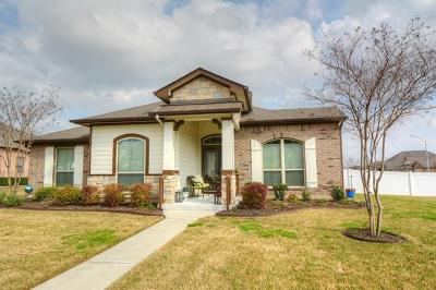 Pflugerville Single Family Home For Sale: 18117 Mammoth Cave Blvd