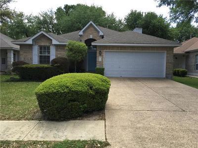 Cedar Park Single Family Home For Sale: 2306 Portwood Bend Cove