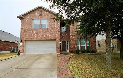Pflugerville Single Family Home For Sale: 19100 Leigh Ln