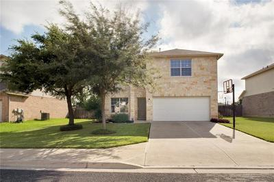 Georgetown Single Family Home For Sale: 1509 Watercrest Dr