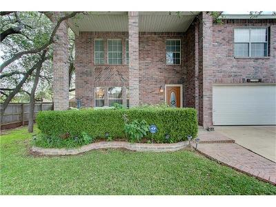 Cedar Park Single Family Home For Sale: 1721 Barrilla St