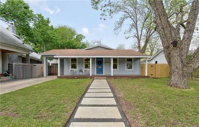 Travis County Single Family Home Pending - Taking Backups: 1202 Alguno Rd