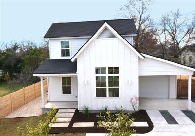 Austin Single Family Home Pending - Taking Backups: 929 E 53 1/2 St E #2