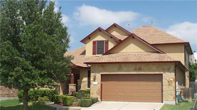 Round Rock Single Family Home For Sale: 3821 Links Ln