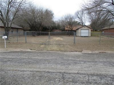 Taylor Residential Lots & Land For Sale: 1008 Cottonbowl Dr