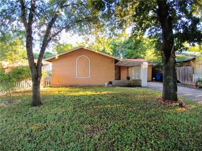 Austin Single Family Home For Sale: 2411 Rockridge Dr