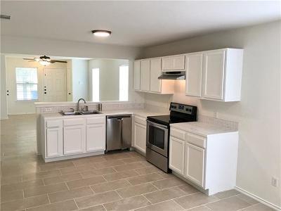Manor Single Family Home Pending - Taking Backups: 12848 Saint Mary Dr