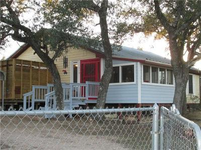 Burnet County Single Family Home Pending - Taking Backups: 513 Judy Ln