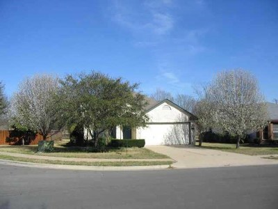 Round Rock Single Family Home For Sale: 1622 Sundance Dr