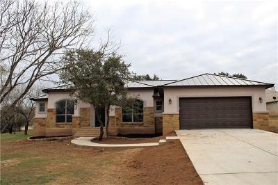 Horseshoe Bay Single Family Home For Sale: 2601 Deep Cyn