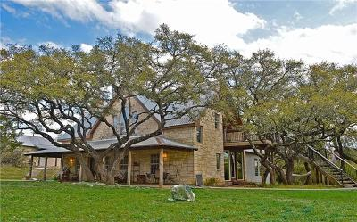 Spicewood Single Family Home For Sale: 22701 Rocking A Trl
