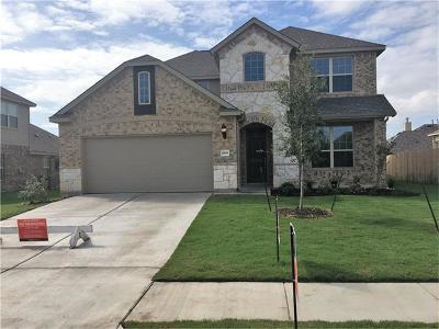 Pflugerville Single Family Home For Sale: 2809 Waterson St