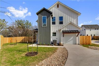 Travis County Single Family Home For Sale: 1145 Shady Ln #5