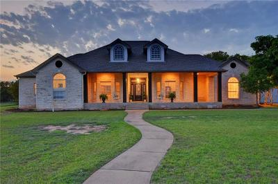 Leander Single Family Home For Sale: 304 Limestone Creek Rd