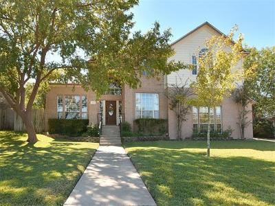 Pflugerville Single Family Home For Sale: 803 Valley Meadow Dr