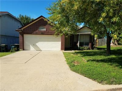 Pflugerville Single Family Home Pending - Taking Backups: 13822 Lothian Dr