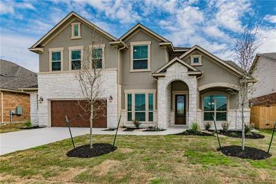 Round Rock Single Family Home For Sale: 3391 Vasquez Pl