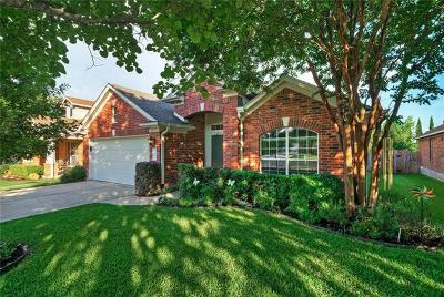Round Rock Single Family Home Pending - Taking Backups: 3106 Ansonia Trl